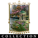 Thomas Kinkade Tapestries Of Light - Seasonal Decor Wall Hanging Tapestry Collection