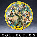 The Wizard Of Oz Collector Plates: The Yellow Brick Road Adventures Collection