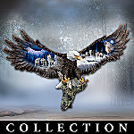 Mystic Guardian Bald Eagle Wall Sculpture Collection