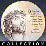 Jesus Porcelain Collector Plate Collection: Blessings Of The Lord