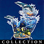 Lights Of Paradise Collectible Dolphin And Tropical Fish Figurine Collection