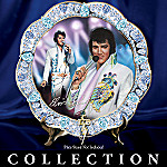 Elvis Presley Forever The King Collector Plate Collection