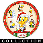 Warner Bros Tweety Collector Plate Collection: Tweety Holidays