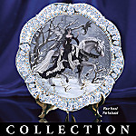 Crystal Enchantment Fantasy Art Collector Plate Collection: Unique Home Decor
