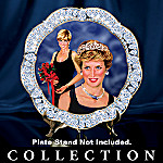 Sparkle Of Diana Tribute Collector Plate Collection: Collectible Princess Diana Memorabilia