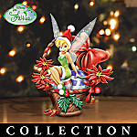 Disney Tinker Bell Holiday Baskets Figurine Collection