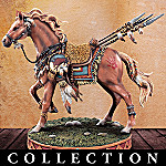 Guiding Spirits Native American-Inspired Horse Figurine Collection: Horse-Themed Home Decor