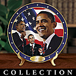 Barack Obama 44th President Of The United States Collector Plate Colletion