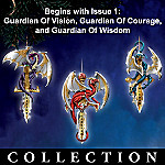 Dragon Guardians Of The Crystal Realm Ornament Collection
