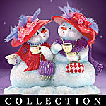 Simply Sassy Snowfriends Collectible Snowman Figurine Collection