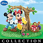 Disney Collectible Mickey & Minnie's Timeless Romance Figurine Collection
