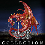 Collectible Mythical Dragon Figurines: Wrath Of Greed Collection