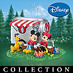 Happy Trails Mickey & Minnie RVing Figurine Collection