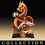 Benevolent Dragons Mythical Chinese Dragon Figurine Collection