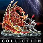 Medieval Knight And Dragon Figurines: Battles Of Medieval Legend Collection