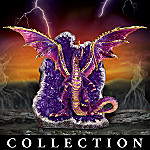 Protector Of The Crystal Caves Collectible Dragon Figurine Collection