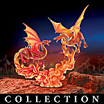Warriors Of The Elements Mythical Dragon Figurine Collection