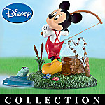 Mickey's Hooked On Fishing Collectible Figurine Collection