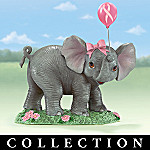 Breast Cancer Charity Collectible Elephant Figurine Collection: Trunks Full Of Hope