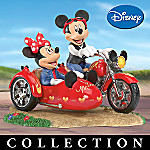 Disney Mickey & Minnie's Motorcycle Magic Figurine Collection
