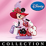 Disney Minnie Mouse Hat Over Heels Figurine Collection