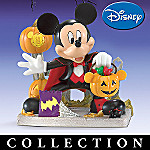 Disney Halloween Collectible Figurines: Mickey's Frightfully Fun Halloween Collection