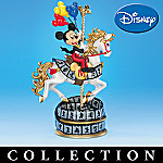 Mickey & Friends Magical Horse Carousel Figurine Collection