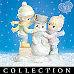 Precious Moments Snow Days Friendship Figurine Collection
