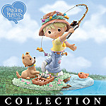 Gone Fishin' Precious Moments Whimsical Figurine Collection