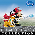 Mickey To The Rescue Firefighting Collectible Figurine Collection
