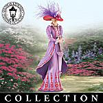 Thomas Kinkade Fancy Hatters Stylish Women Figurine Collection