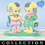 Beauty Shop Buddies Collectible Precious Moments Figurine Collection