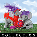 Friends Are Tons Of Fun Collectible Elephant Figurine Collection