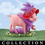 Stepping Out In Sty-le Collectible Pig Figurine Collection