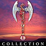 Revenge Of The Dragon Slayer Dragon Collectible Axe Wall Decor Collection