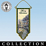 Thomas Kinkade Holiday Door Banners Collection
