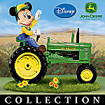 Mickey Mouse's Farm Livin' With John Deere Equipment Figurine Collection