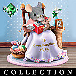 Charming Tails My Precious Granddaughter Collectible Mouse Figurine Collection