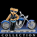 Biker Babes Teddy Bear Collectible Figurine Collection