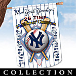 New York Yankees Collectible Decorative Flag Collection