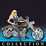Ladies In Leather Motorcycle Figurine Collection