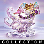 Angels Of Light Stained Glass Style Collectible Angel Figurine Collection