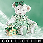 Irish Good Luck Wishes Teddy Bear Collectible Figurine Collection