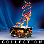 Miniature Collectible Elegance Of The Dragon Shoe Figurine Collection
