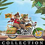 Charming Tails Of The Open Road Collectible Mouse Figurine Collection