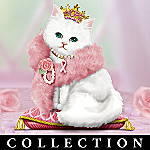 Breast Cancer Charity Figurine Collection: Cats For The Cure