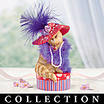 The Purr-fect Hat-titude Collectible Cat Figurine Collection