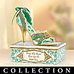 Irish Blessings Collectible Shoe Figurine Collection