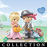 Precious Moments Halloween Fun Figurine Collection: Collectible Halloween Decoration