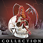 Dragons Of The Dead Figurine Collection: Dragon And Skull Collectibles